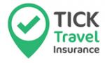 Tick Travel Insurance Discount Codes & Deals 2021